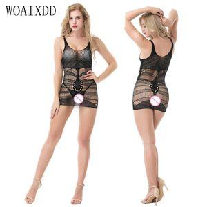 Femmes Lingerie Hot Erotic Sexy Teddy Dentelle Satin Bodysuits Babydoll Woaixdd Intit Sleep Hearwear