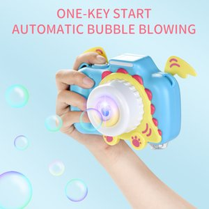 Bubble blowing toys Cartoon bubble camera Electric music Toy camera for children Soapy water Children's Toys