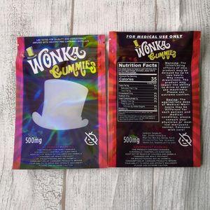 Конфеты Empty Упаковка Wanka Gummies ботаников веревочные Сумки Gummy 500мг сумка Данк CE2007 Tzuut
