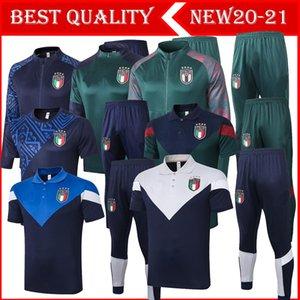 20/21 Italie Belgique costume national de formation de football de l'équipe Survetement 2020-21 Espagne Argentine de football Survêtement Veste de jogging futbol chandal