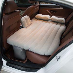 Автомобиль воздуха Надувные автомобилей Кровать Открытый кемпинга ПВХ Флокирование Mult-ifunction Back Seat Матрас кровать Travel Mat Подушка