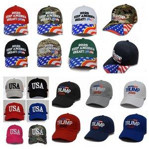 31 Estilos Trump gorra de béisbol bordadas mantener a Estados Unidos Gran nuevo Caps Sombrero de la bandera de Estados Unidos de América Presidemt Elección ajustable del Snapback LJJP326
