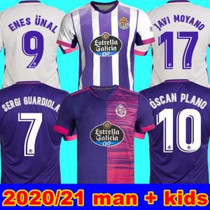 Hommes + Kids 2020 2021 Real Valladolid Soccer Jersey 20 21 Fede S. R. Alcaraz Sergi Guardiola óscar Plano Camisetas Sergi Guardiola Jersey