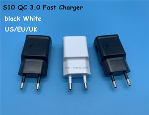 DHL50pcs QC 3,0 Fast Charger US / EU 5V 2A Quick Charge Travel Adapter EP-TA200 für Samsung Galaxy S10 Ladegerät S8 S9 Plus-S6 Edge-A7 Hinweis 8