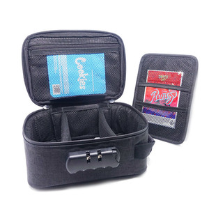 Bag Waterpoof Smell Case With Zero Lock Zippers Proof Eastoner Stash Container Combination For Proof Odor Bag Snag Travel Xxmgk