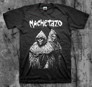 MACHETAZO #039Blind Dead#039 T shirt (Cripple Bastards SOB Naplam Nashul Grind)