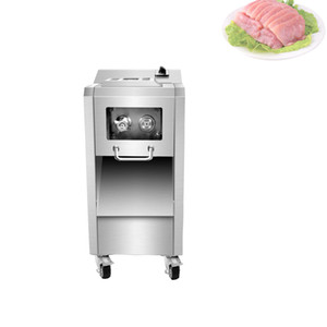 Commercial Meat Grinder Slicer Double motor Stainless steel Meat Mincer 2200w Cutting Machine Vegetable Cutter