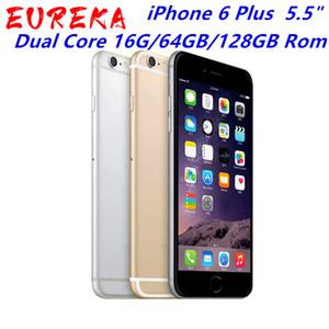 """Original Unlocked iPhone 6 Plus mobile phone 5.5"""" Dual Core 16G 64GB 128GB Rom IOS iphone 6plus 8MP Camera 4K video LTE"""