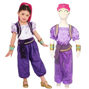 Shine Costume for Girls Halloween Costumes for Kids Birthday Party Favor Costume C0927