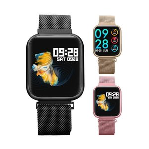 P80 Smart Watch Waterproof Heart Rate Monitor Fitness Watch Call Reminder Sport Smartwatch Sleep Monitor for iOS Android