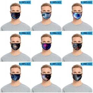 Wiederverwendbare Waschbar Gesichtsmasken Breath Mascarilla Anti Smoke Respirator Baumwolldrucken Frau Mann Four Seasons New Arrival 2 2glc D2
