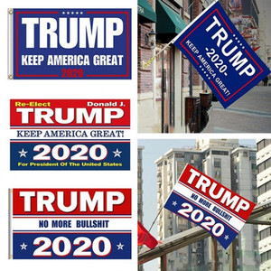 10 cores Decor Bandeira Bandeira Trump Hanging 90 * 150 centímetros Trump Mantenha América Grande Banners 3x5ft Digital Imprimir Donald Trump Bandeira 2020