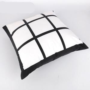 Diy Copricuscino Mat Nove Griglie sublimazione Blanks cuscino personalizzato di scambio di calore Pad Covers maniche Pillowslip casa Auto 10 5 kr C2