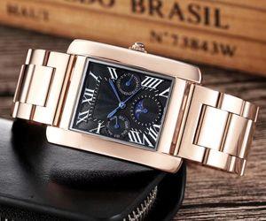 Hot Sale Men watches sport Watches Casual Fashion Business Steel belt watch quartz Movement male clock man Watch Men Montre homme