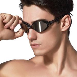 Copozz New Professional Anti-Fog UV Protection Adjustable Swimming Goggles Men Women Waterproof silicone glasses adult Eyewear