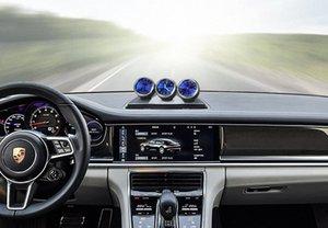 Car Ornament Automobile Orologio automatico Interni Guarda il termometro igrometro decorazioni Dashboard Decor Accessori Regali sHhj #