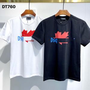 DSQ Phantom Tortue 2020ss New Mens Designer T-shirt Italie T-shirts Été Hommes DSQ T-shirt Homme Top Qualité 100% coton Top 5875