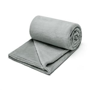 70 * 120 플란넬 담요 어린이 담요 단색 커버 담요 단일 Office 낮잠 담요 소프트 담요 무료 배송을 따뜻하게