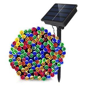 Solarschnur-Licht-5m / 16 .4ft 30 LED Lampen Solar Lichterkette für Outdoor-Gärten Häuser Weihnachtsbaum Halloween-Party