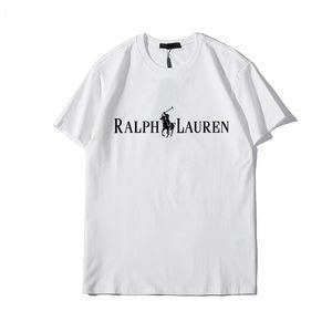 Mens T Shirt Mens Indumenti riflettenti Stampa Lettera estate maglietta di Hip Hop a maniche corte delle donne degli uominiralph polo zz8Lauren Taglia M-XXXL