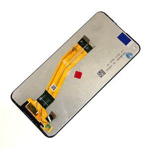 LCD Ekran Sayısallaştırıcı Meclisi için Samsung Galaxy A11 A115F 6.4 inç LCD ekran Hayır Çerçeve Yedek Parça Siyah