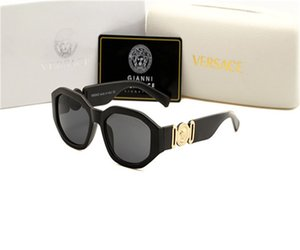 Versace ELITERA Brand Design occhiali da sole di modo degli uomini polarizzato Accessori di Eyewear Occhiali da sole di alta qualità