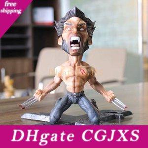 17cm Movie X -Men Wolverine Logan Figure Creative Statue Anger Face X Men Pvc Action Figure Model Toys Doll