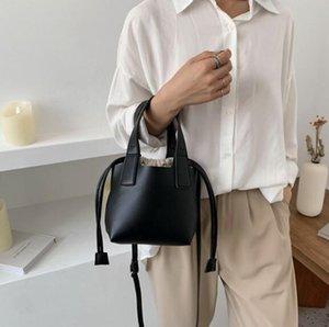 Bolsa de hombro Mujeres mayores Backet Bag Lady alta calidad Bolsa de la compra extraíble bolsos