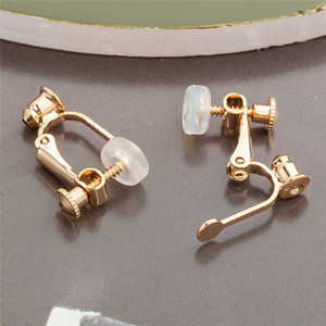 Clipe Gold Silver on brincos Converter Abrir aro para diy Studs perfurado jóias brincos mulheres homens moda vai e presente de areia
