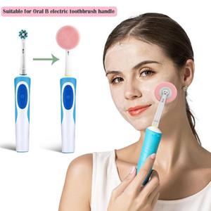 Для Oral-B Электрическая зубная щетка Замена лица Heads Очищающий кисть Зубная щетка очищающего Head