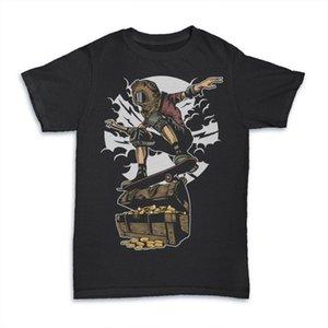 2019 100% coton Fashion Diver Skater Trésor MASHUP mens tees t shirt nouveau 2019 Tee shirt