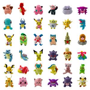 Mehr Stil Mewtwo Charizard Gengar Dragonite Ditto Dragonite Snorlax Kinder Spielzeug gefüllte Puppe Baby-Plüsch-Spielzeug-Urlaub Halloween-Geschenk 15-22cm