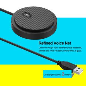 Toplantı İş Konferans Sesli Sohbet Canlı Video Yayını Sound için USB yönlü Kondenser Mikrofon Mikrofon Pick-up