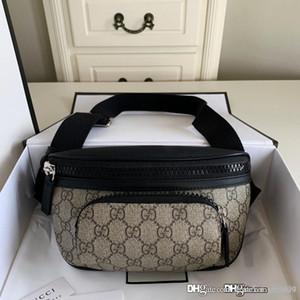 Les nouveaux hommes Eden sac de ceinture style classique mini-hommes et femmes Sacs à la taille réelle des femmes Sac en cuir imprimé sac banane concepteur Waistpacks 450946
