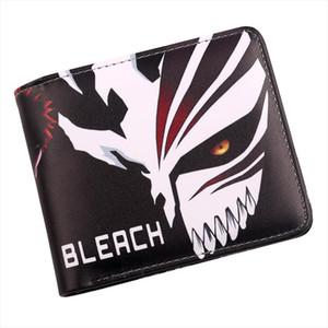 Bleach Mours Mask Anime Держатель Студенты Кошелек IChgo Card Bifold Кредит Кошелек Косплей Короткие XHCNS
