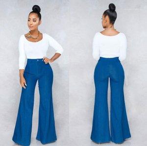 Bootcut Fashion Slim Solid Color Mid Waist Flare Long Pants Casual Womens Designer Pants Spring Women Designer