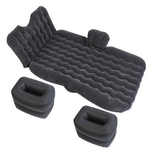 Travel Car Bed Back Seat Air Sofá inflável Colchão Multifuncional Pillow Outdoor Camping Mat Almofada Universal Big Size