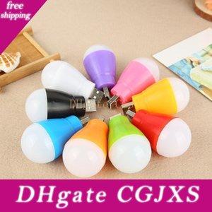 USB-Schnittstelle Led Kleine Glühlampe bewegliches Nachtlicht / Mobile Power / Charging Schatz Usb Gerade Taschenlampe