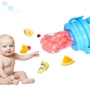 Baby-Nahrungsmittelzufuhr Fruit Feeder Pacifier Infant Dentitionspielzeug Beißring Food Grade-Silikon-Beutel für Kleinkinder und Kinder DHL freie Fracht