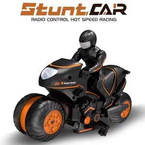 Stunt-Fernbedienung Motorrad Spielzeug Kühle Drift High Speed Off-road-Fernbedienung Auto RC Motorrad-Kind-Geschenk