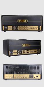 Custom Grand Amp Valve Tube Guitar Amplifier Head Jxs120 Style 100W in Black EL34 6L6 Select Switch Preamp 12AX7*4 Power Tube 4*EL34