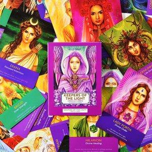 Card Game Party Oracle Lumière Lire Tarot Keepers English Cartes destin Conseil pour le jeu de famille Utilisez bbyCIb bdesports