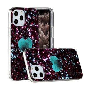 Marble TPU IMD Case For Samsung A21S A31 A51 5G A71 5G Iphone 12 2020 LG V60 K51 Soft Natural Granite Stone Rock Heart Love Phone Cover