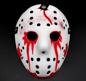 Бесплатная доставка Scary Horror Festival Party Halloween маски 8 цветов Jason Маски Маскарад костюм Декор Мужчины Горячие Продажа