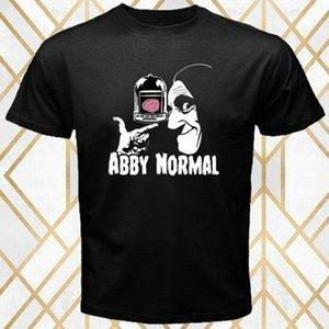 Abby Normal Horror Movie Frankenstein Logo Men's Black T-Shirt Size S - 3XL