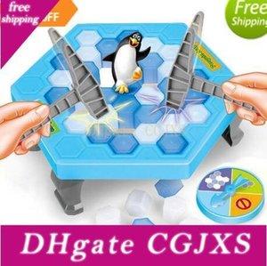 저장 펭귄은 얼음 블록 대화 형 가족 게임 펭귄 함정 퍼즐 테이블 게임 밸런스 I 부서진 얼음 조각 완구 데스크톱 게임 퍼즐 노크