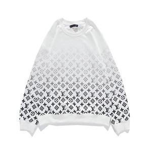 impresión de alta calidad 2020 para hombre de la moda diseñador de Hip Hop bordó la camiseta de los Hoodies Casual Male sudadera suéter del invierno de las mujeres