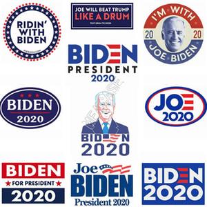 الرئيس جو بايدن ملصق سيارة 2020 الانتخابات الرئاسية الأمريكية المرشح مصمم السيارات الوفير ملصقات اكسسوارات 10PCS / LOT = 10design D9101