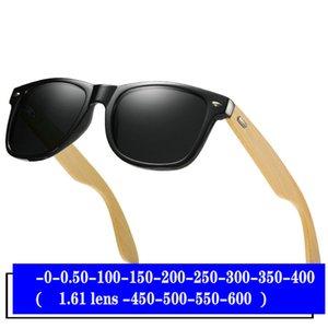 Rezept Sonnenbrille Fahren FML 0 Runde -600 minus Grad cool bis polarisierte Männer Polarisierte Goggle Optische Sonnenbrille Myopia unne