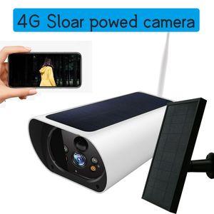 4G LTE IP Camera SIM Solar Battery Wireless PTZ Camera HD 1080P Outdoor Waterproof 2MP CCTV Security Surveillance